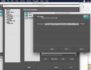 1.GNS3,添加IOS镜像