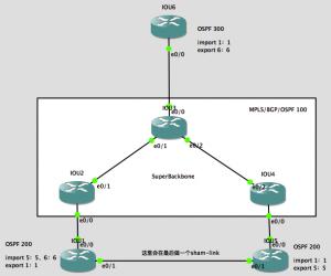 MPLS VPN中OSPF三类和五类LSA防环机制