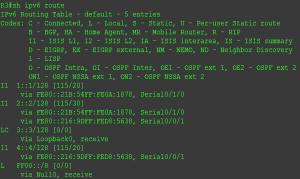 ISIS R3-Cisco 2811实验截图