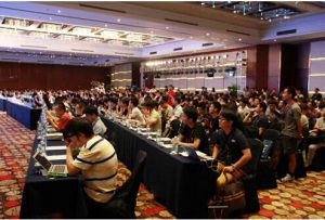 2015 KCon黑客大会现场桌无虚席