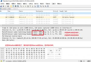 在IOU9上ping 10.9.1.10时,IOU5的e 0/2口上的抓包