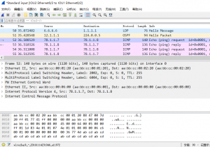 在IOU7上ping 78.1.1.8时,IOU2的e 0/2口上的抓包