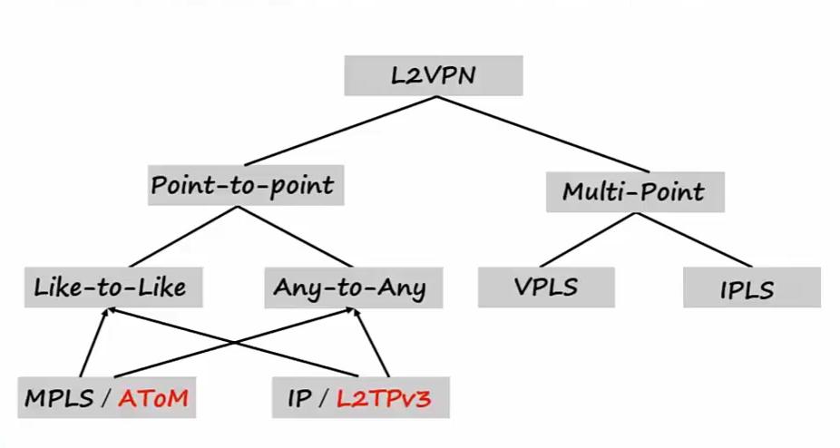 L2VPN传统结构
