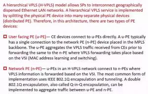 VPLS 的分层设计