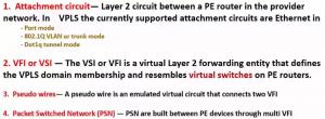 VPLS 的四个组成部分