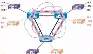 举个VPLS的例子,让LDP为伪线分配MPLS标签
