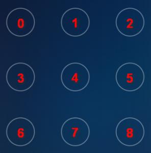 支付宝的手势密码其实就是数字 0 到 8、最短 4 位,最长 9 位的纯数字密码