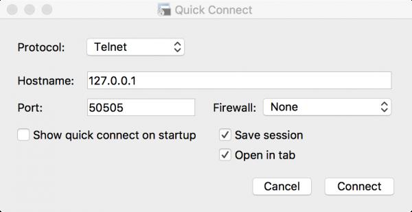 使用 SecureCRT 软件连接玩具级 NoSQL 数据库