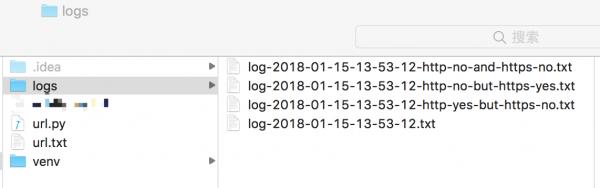 用不到 200 行的 Python 代码编写一个批量检测 URL 是否可以访问的脚本 - 目录结构(2)