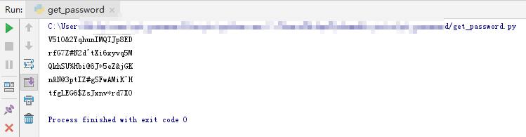 使用 3 行 Python 代码批量生成高难度的随机密码