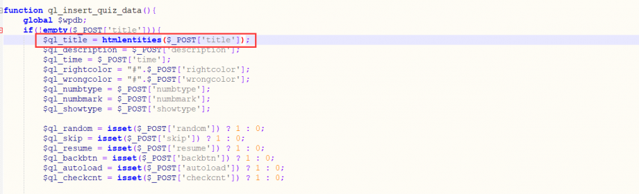 利用 htmlentities() 函数转义 html 实体