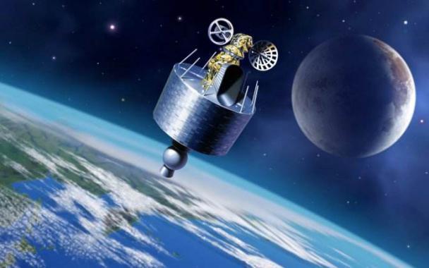 """通过卫星实现 """" 天地一体化 """" 的量子保密通信网络?(图片来源于网络)"""