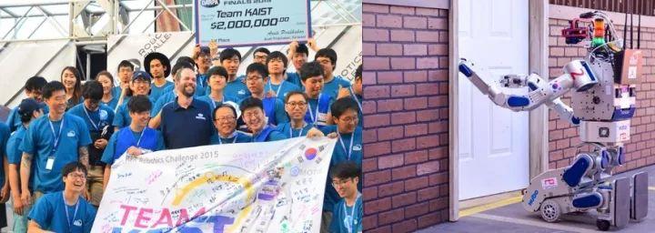 DARPA Robot Challenge(DRC),韩国科技大学队赢了第一名