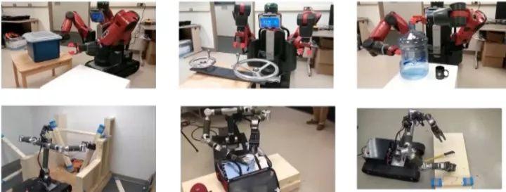 机器人可以开拉链、检查包裹、用钳子撤除炸弹等