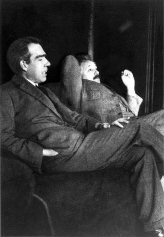玻尔与爱因斯坦