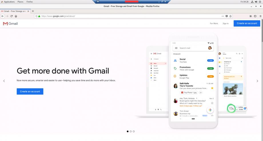 访问 Gmail