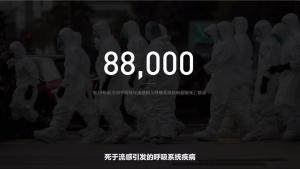 过去几年,中国平均每年有 8.8 万人死于流感引发的呼吸系统疾病《关于新冠肺炎的一切|回形针》