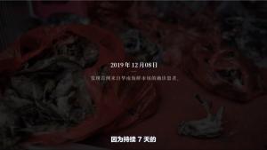 2019 年 12 月 8 日,发现首例来自华南海鲜市场的确诊患者