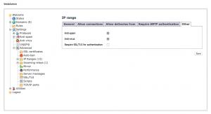 hMailServer - IP range - Other